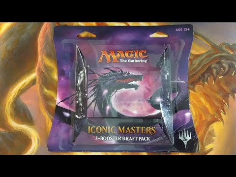 Walmart MTG Iconic Masters 3-Booster Draft Pack
