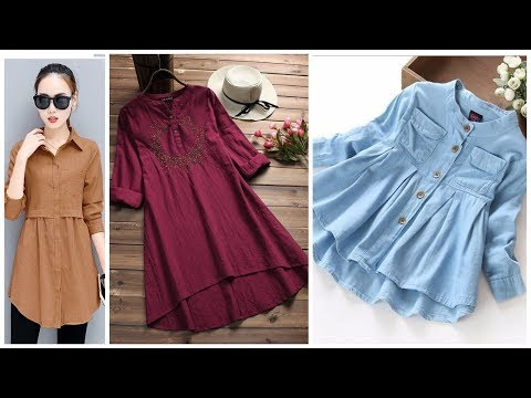Stylish Tunic Top Design Collection For Girls