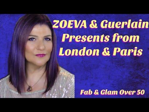 Zoeva & Guerlain Mini Haul: Presents from London & Paris