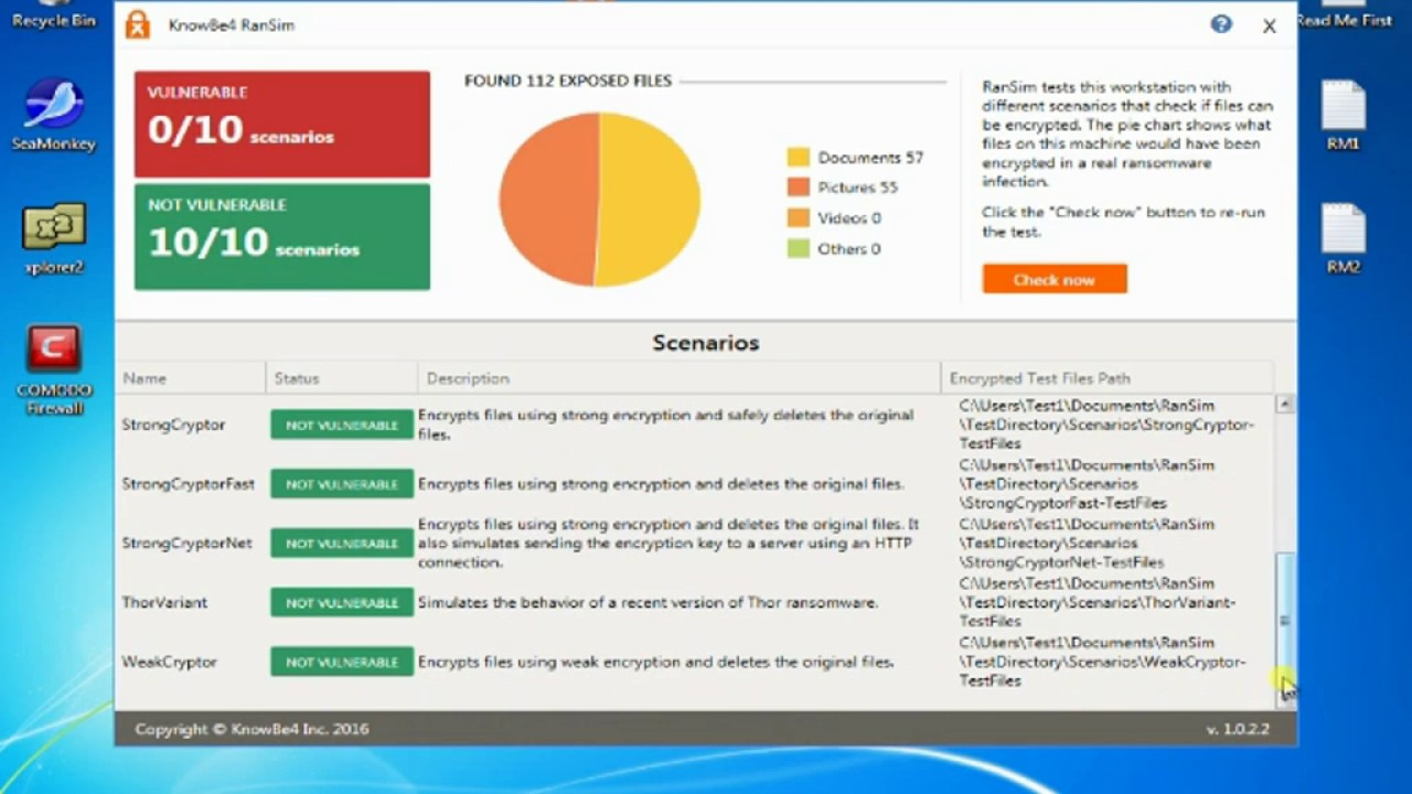 RanSim Ransomware Simulator