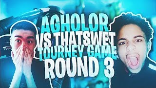 Agholor VS Thats Wet- Tourney Game Round 3 - MATCH UP OF THE YEAR?