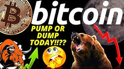 URGENT- PUMP OR DUMP TODAY FOR BITCOIN LITECOIN and ETHEREUM Crypto prediction,analysis,news,trading
