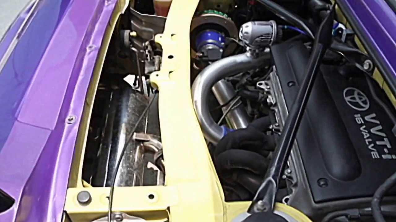 MR2 Spyder 1ZZ Turbo Kit By Spazio Garage