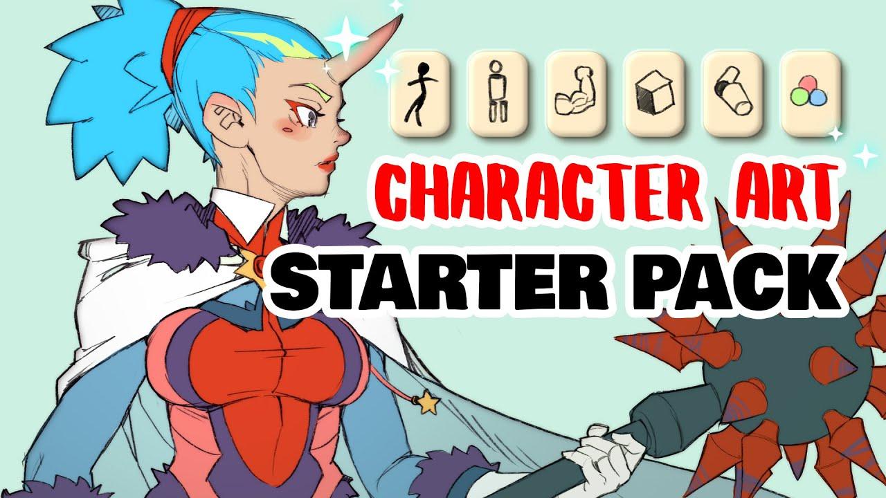 📜 CHARACTER ARTIST STARTER PACK