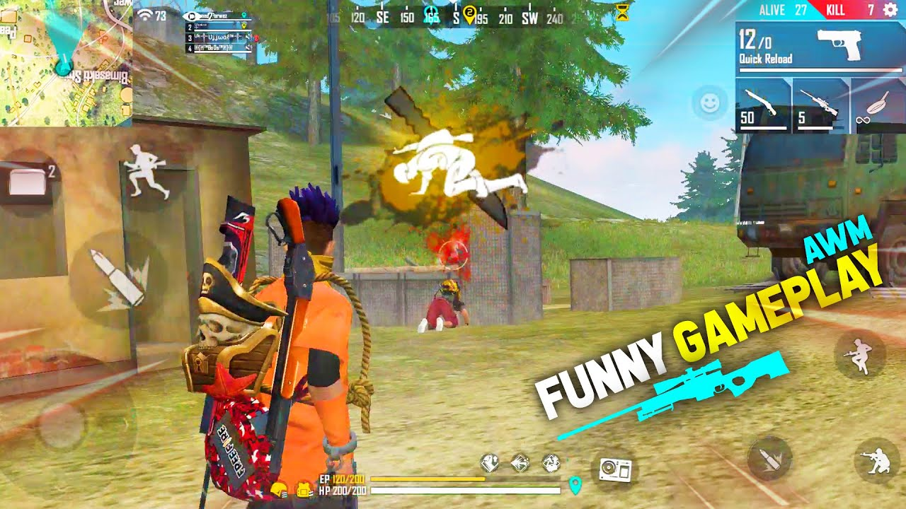 When I Play Like Pro 22 Kills Total In Free Fire Incredible Rush Gameplay Garena Free Fire Youtube
