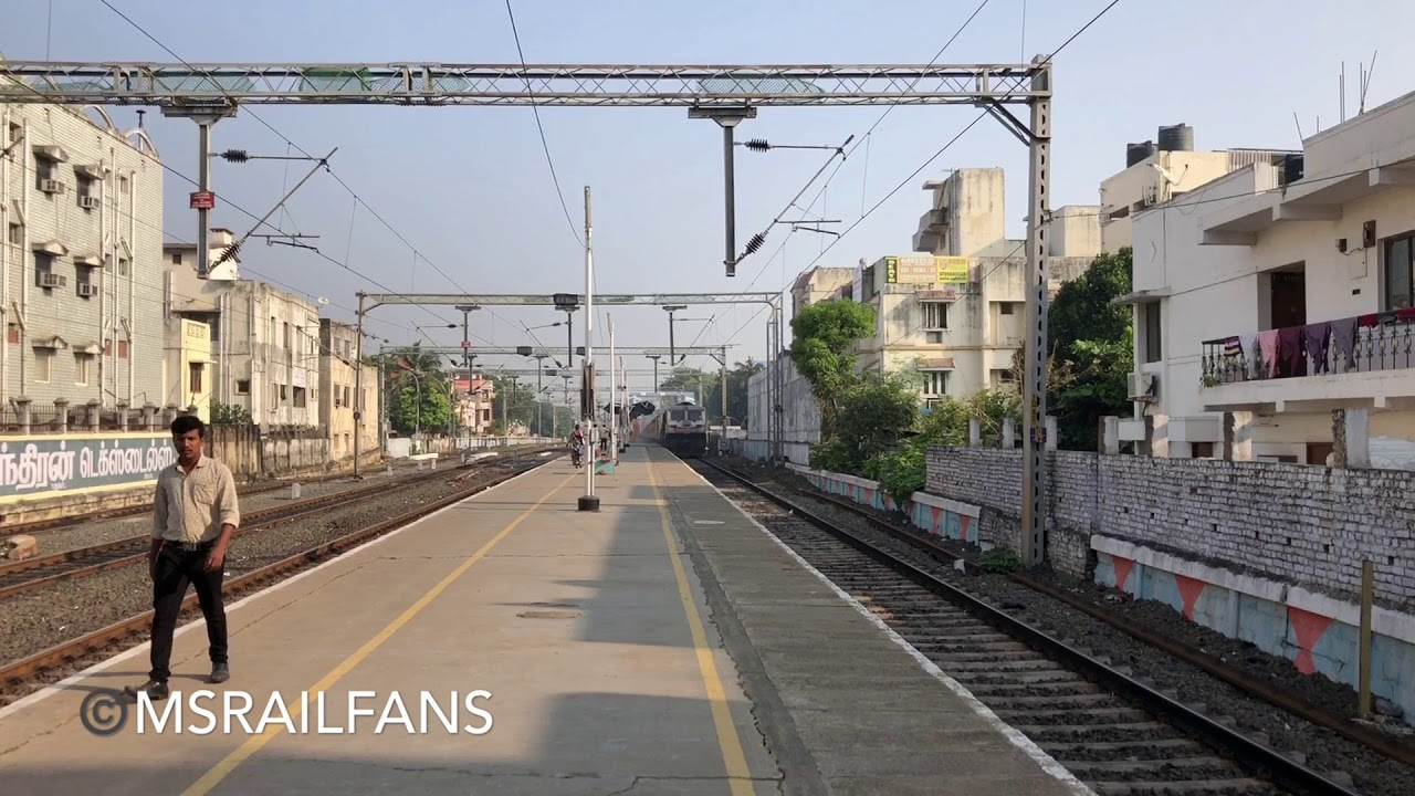 LOUD HORN | HUMMING WDP4D 40101 | 16795 CHOLAN EXPRESS : INDIAN RAILWAYS