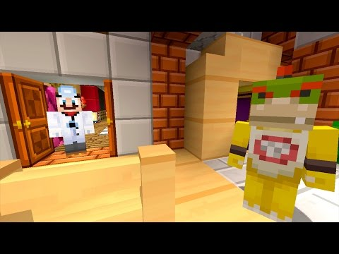 Minecraft Wii U - Nintendo Fun House - Bowser JR Sneaks Out! [6]
