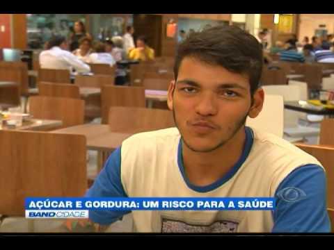 """Band Cidade - """"Açúcar e gordura: um risco para a saúde"""""""