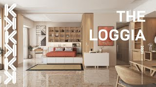 The Loggia Apartment Animation by Kunkun Visual