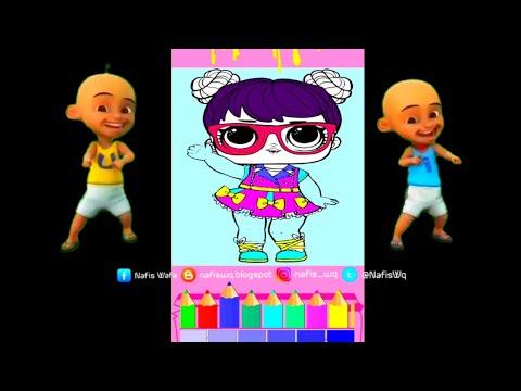 Mewarnai Boneka Lol Surprise With Upin Ipin Coloring Lol Surprise