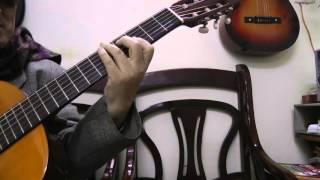 Hướng dẫn guitar - NSUT Văn Vượng. Đêm chia tay - nhạc Nga  (đệm hát)