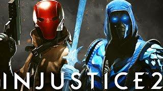 Injustice 2: Red Hood, Sub-Zero & Starfire Story!! - Injustice 2 Red Hood, Sub Zero & Starfire DLC