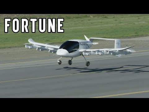 Cora: Larry Page's Autonomous Flying Taxi I Fortune