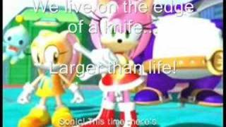 Sonic Heroes-Team Rose-Follow Me lyrics