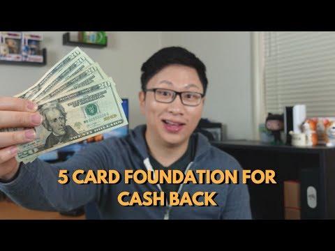 Building A 5 Card Foundation For Cash Back