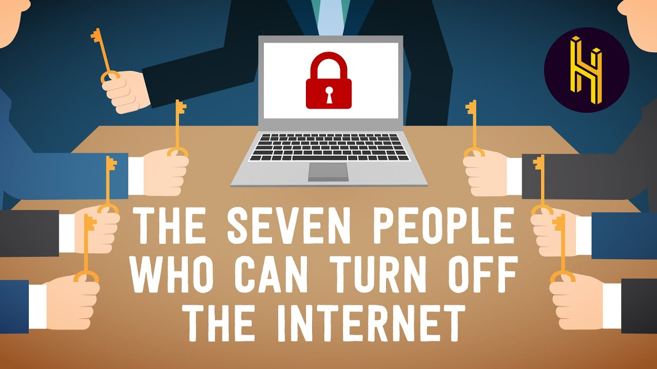 The Seven People who can Turn Off the Internet