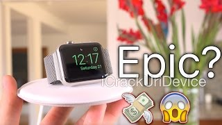Ripoff or EPIC? Apple Watch Magnetic Charging Dock Review