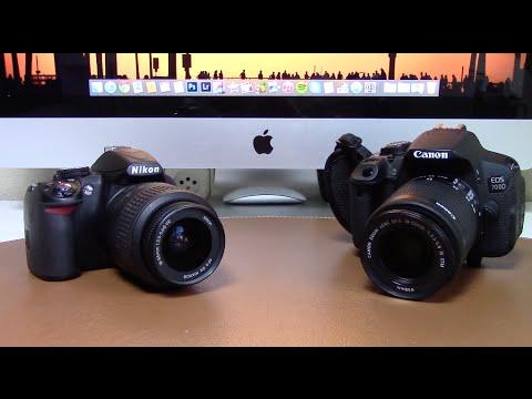 Canon 700D (T5i) vs Nikon D3100 | Comparativa