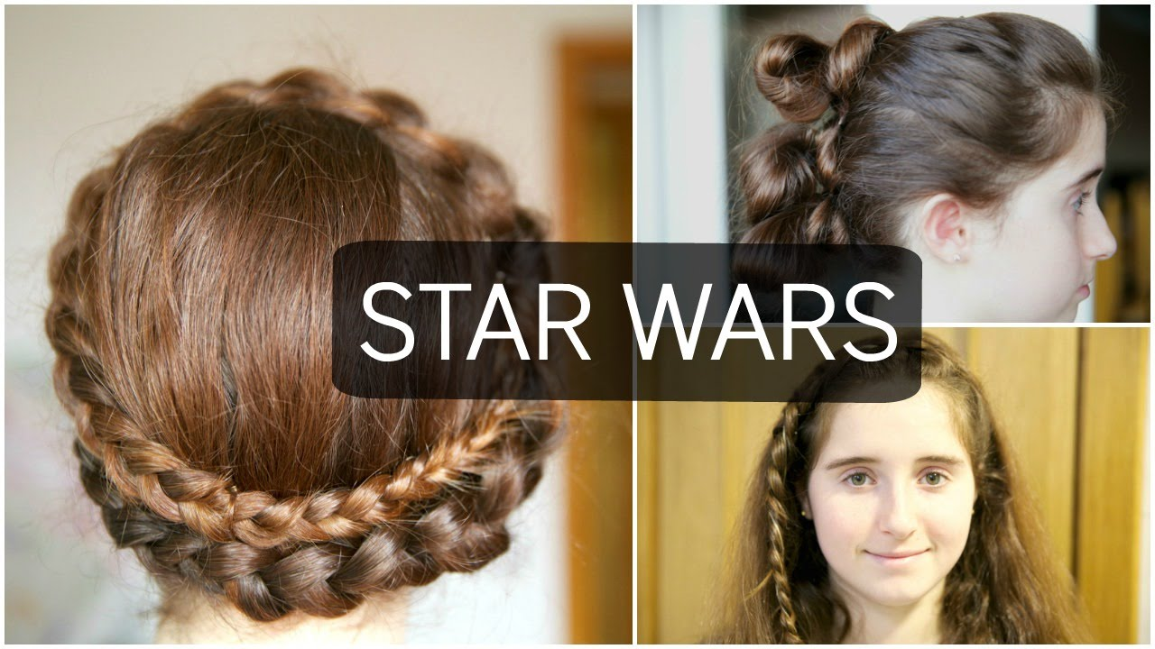 3 Peinados De Star Wars Youtube