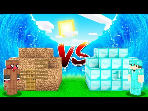 ZENGİN VS FAKİR TSUNAMİ! 🌊 - Minecraft