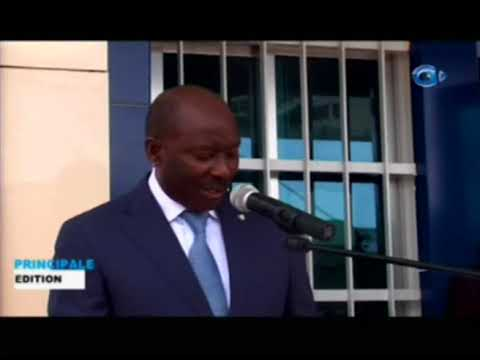 Inauguration d'une nouvelle agence BGFI Bank à Franceville dans le Haut Ogouoé
