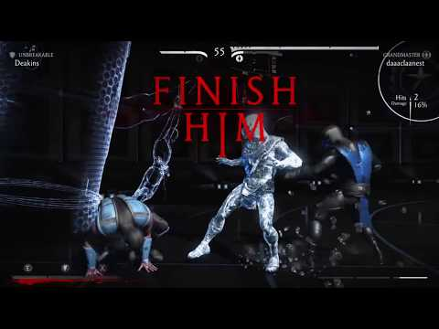 MKXL Unbreakable Sub-Zero VS GM Sub-Zero, Smoke, Outlaw Erro