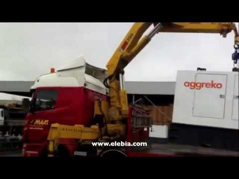 Generator Maneouvering With Automatic Hooks | Smart Lifting Solutions | Elebia