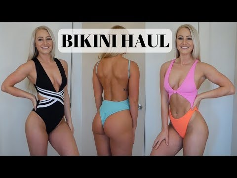 Bikini & One-Piece Swimsuit Try-On Haul & Review   Zaful, H&M, Topshop, Nordstrom, Amazon