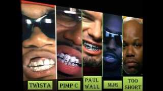 T-Pain ft R.Kelly, Pimp C, Paul Wall... I