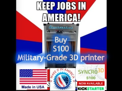 First Military-Grade 3D printer Available to the Public
