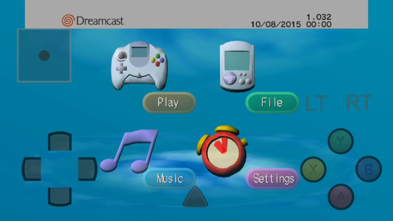 Dreamcast Boot Intro HD 1080p Dev Bios Mod Reicast Android