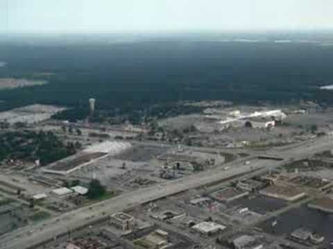 Landing Houston Intercontinental