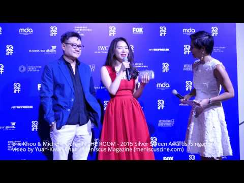 Eric Khoo & Michelle Goh - 2015 Silver Screen Awards, Singapore - Meniscus Magazine