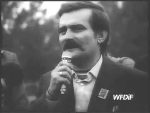 24.05.1981 Lech Wałęsa przywódca Solidarność z rodziną