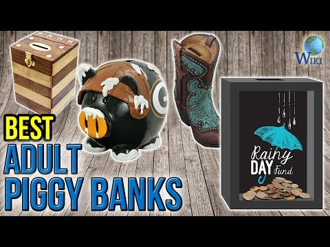 10 Best Adult Piggy Banks 2017