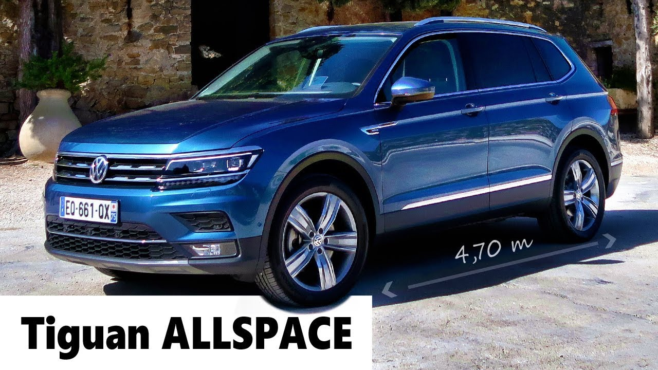 essai vw tiguan allspace 7 places pour la famille avec le billet auto youtube. Black Bedroom Furniture Sets. Home Design Ideas
