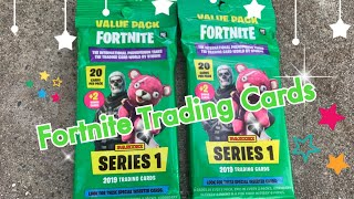 Fortnite Cards - Series 1, 2019 Trading Cards (with Joshua)