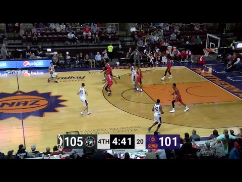 Kennedy Meeks (25 points) Highlights vs. Northern Arizona Suns