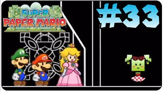 Super Paper Mario Walkthrough Part 33 Chapter 8-2 The Crash
