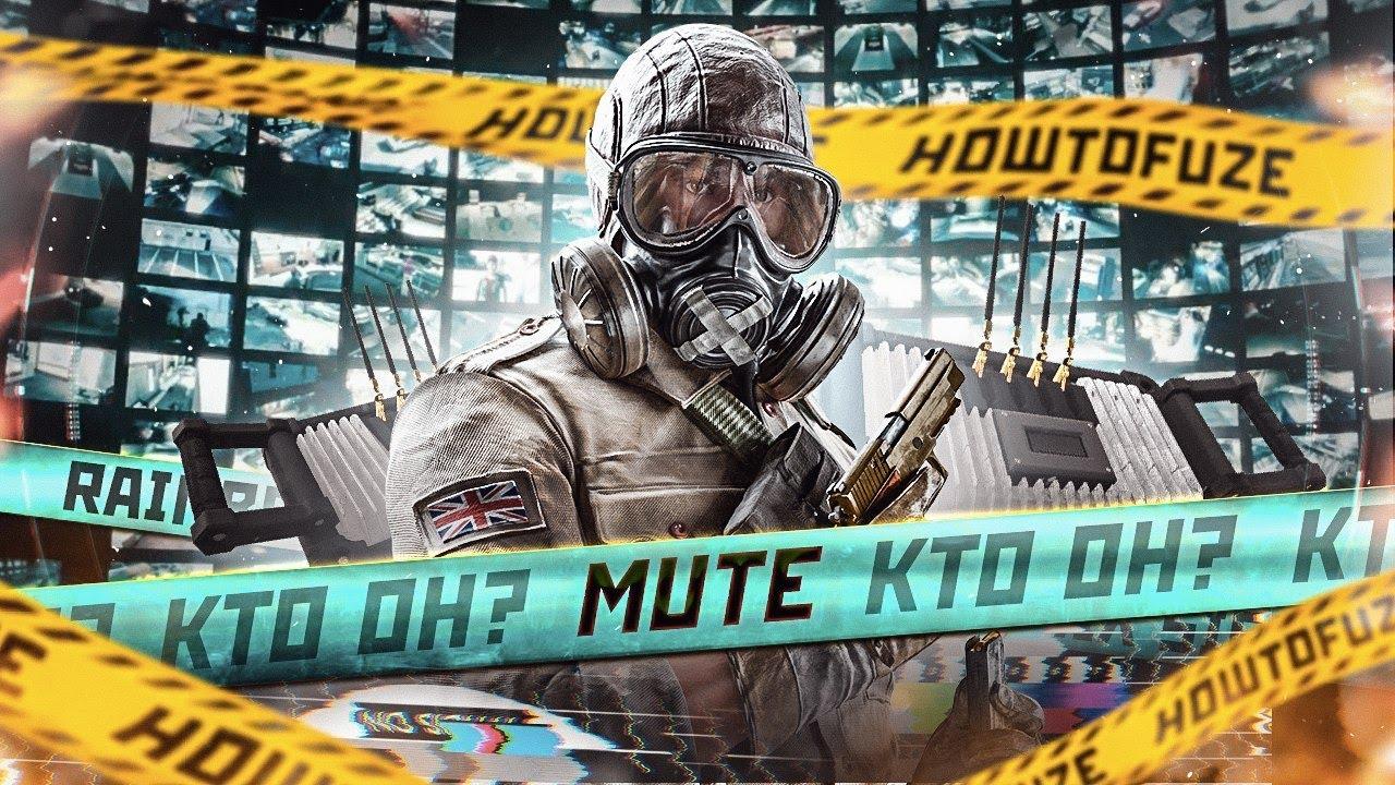 Mute Самый Тихий Подробный Обзор - Rainbow Six Siege