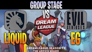 Team Liquid vs Evil Geniuses | Bo3 | Group Stage DreamLeague 13 The Leipzig Major | DOTA 2 LIVE
