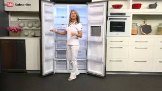 603L Samsung Side By Side Fridge SRS603HLS reviewed by product expert - Appliances Online