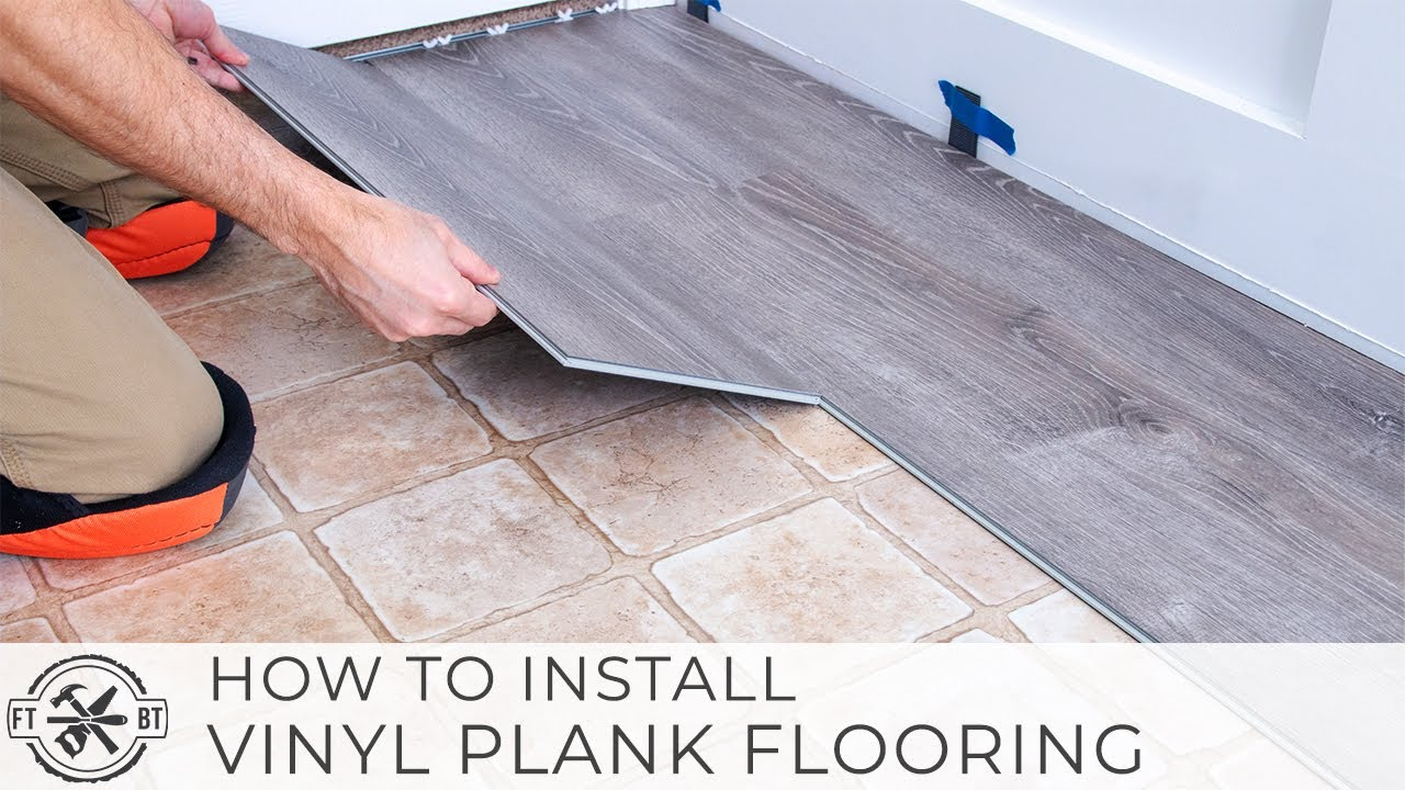 Install Your Own Vinyl Plank Flooring-Video