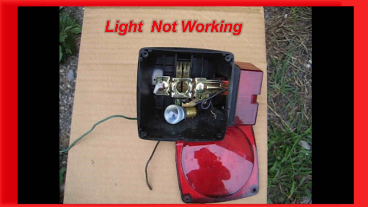 Why my trailer light doesn\'t work A repair that was too simple ...