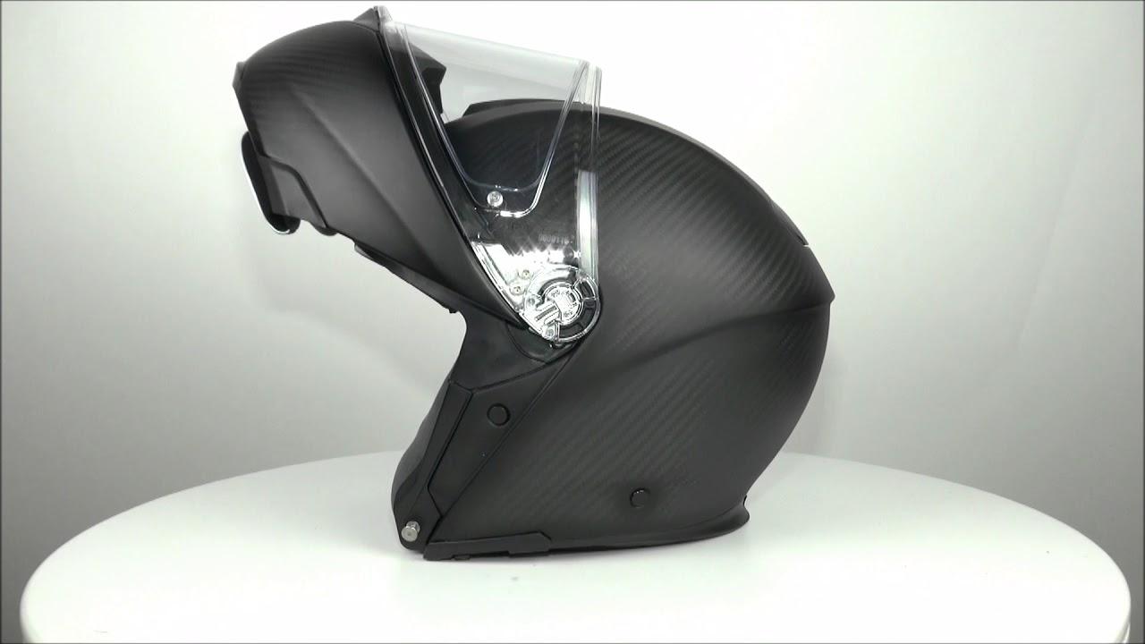 Agv Sportmodular Matt Black Helmet Championhelmets Youtube