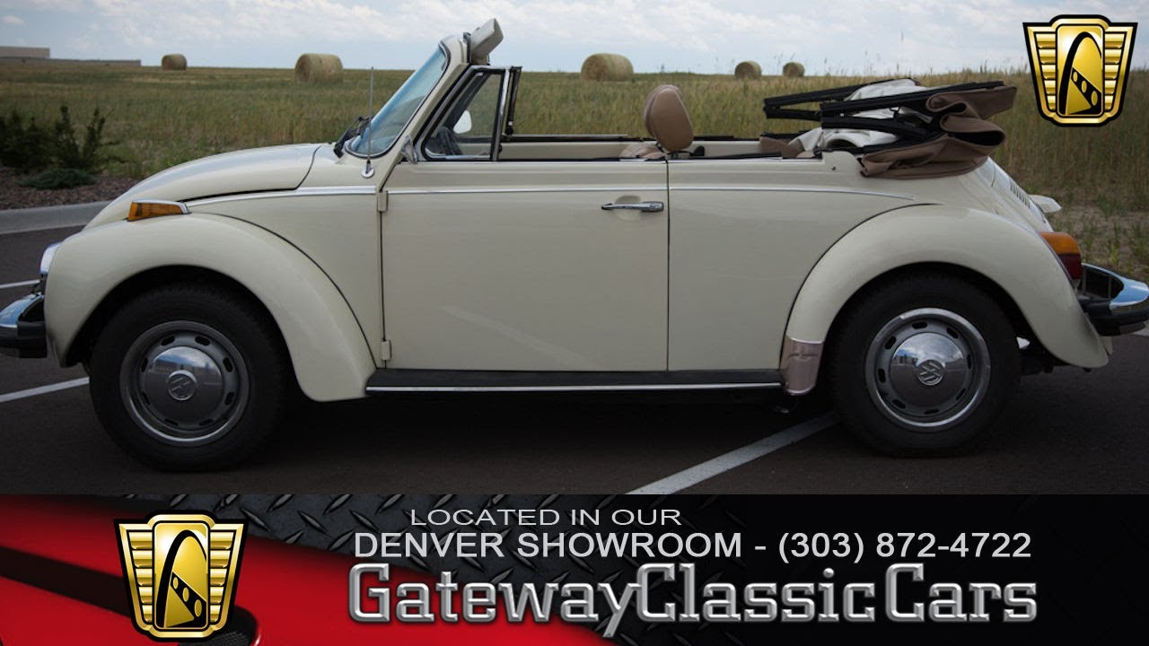 1977 VW Beetle Now Featured In Our Denver Showroom #34-DEN - YouTube