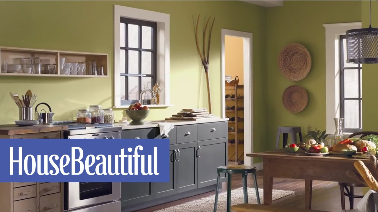 5 best paint colors to enliven your home house beautiful for Living room ideas kenya