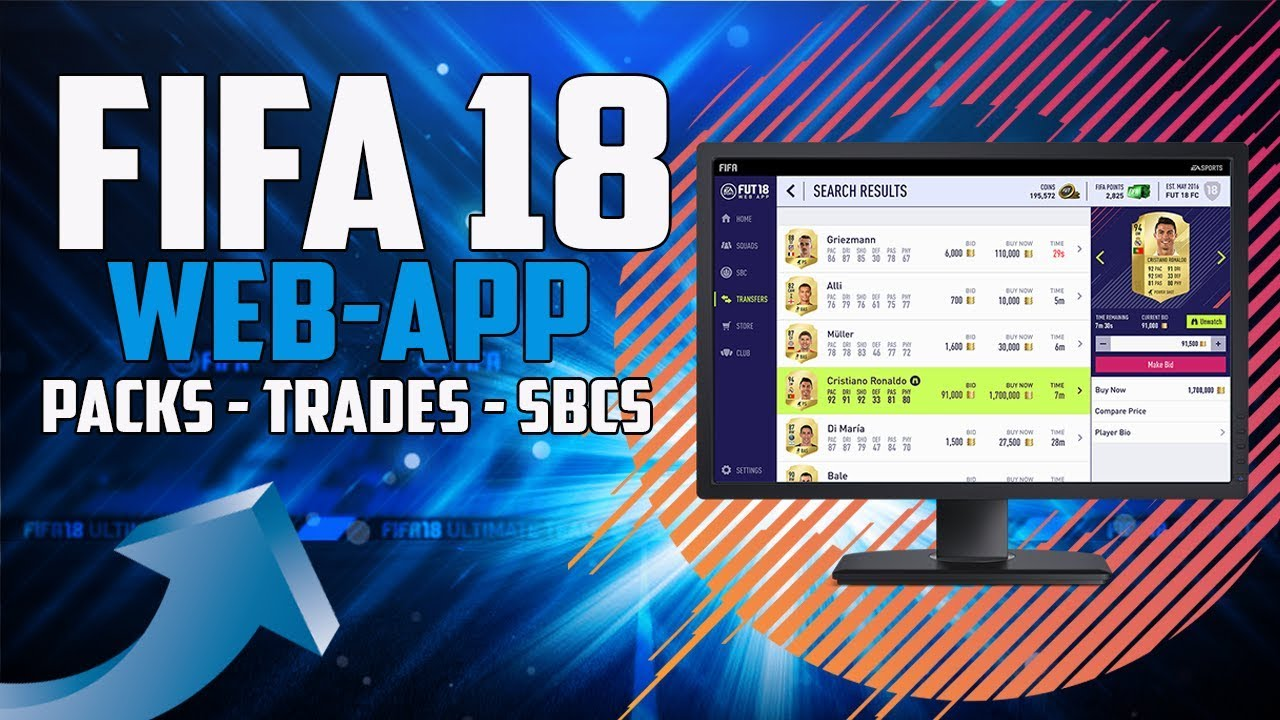 <b>FIFA</b> <b>18</b> <b>Web</b> <b>App</b> – FIFPlay | What do I need to use the …