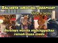 Prosesi pernikahan adat bali balinese wedding proses ngidih/meminang