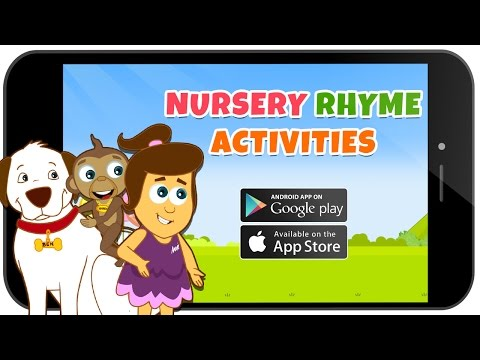 HooplaKidz Nursery Rhyme Activities App Promo - Download Now for FREE